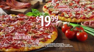 Round Table Pizza's New Magnifico UltiMeat and Wombo Combo Pizzas for $19.99 Whole New Place