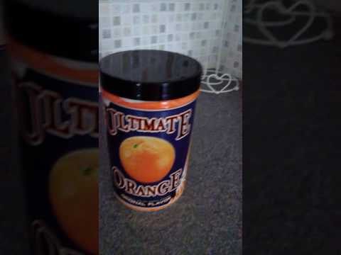 quick ultimate orange pre workout review