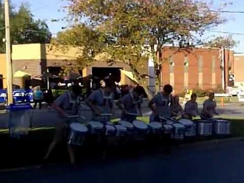 Roosevelt High School Drumline solo from 2012 show