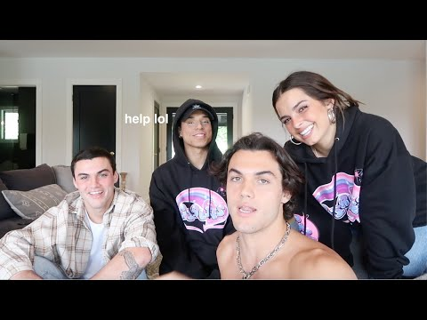TURNING THE DOLAN TWINS INTO TIKTOKERS FT. Addison Rae