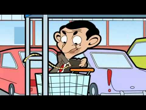 Mr. Bean Animated Series Super Trolley Part1