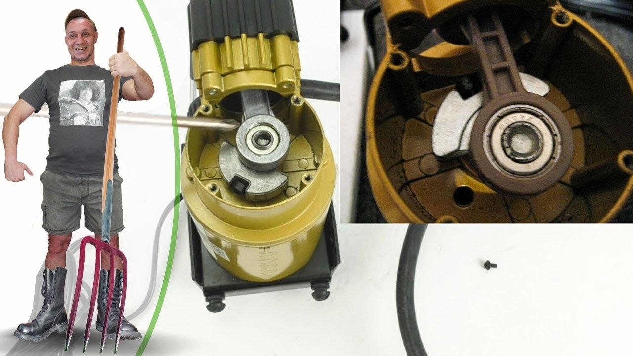 Запчасти автомобильного компрессора для подкачки шин своими руками 69