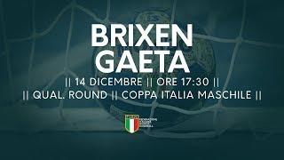 [Qual. Round] Coppa Italia M: Brixen - Gaeta 33-26