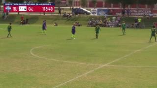 U17 Boys National Championship - Tampa Bay United vs. Galaxy 2001 Blue - 7:15am - Field 8