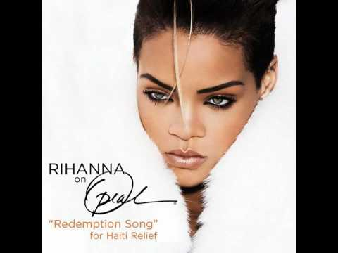 Rihanna   &#039;Redemption Song&#039; for Haiti Relief