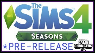 LET'S CHECK OUT BUILD MODE!! The Sims 4 - Seasons Early Access