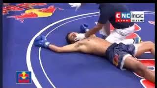 Meas Chanmean Vs Thai, Khmer Boxing CNC 10 Feb 2018,CNC Marathon
