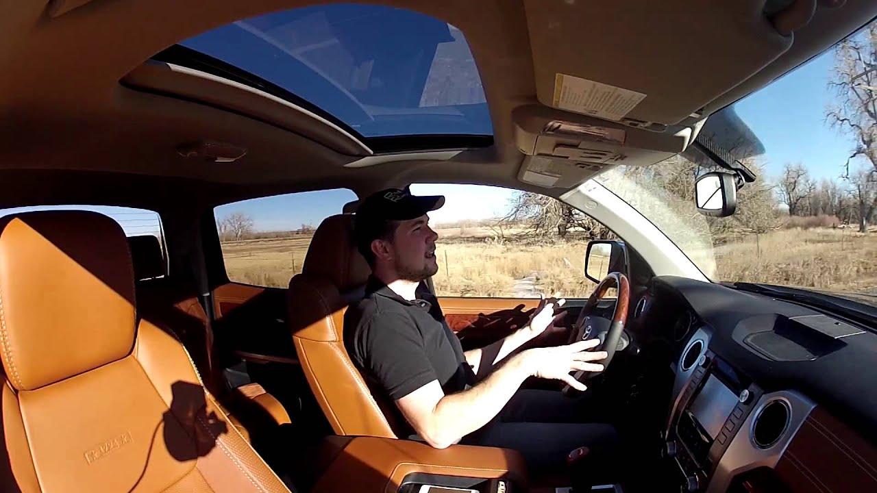 Real Videos 2014 Toyota Tundra 1794 Edition Luxury Truck