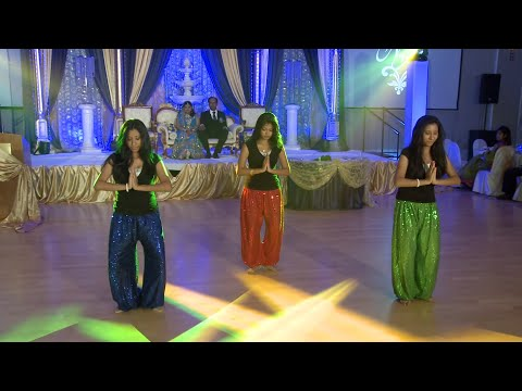 Indian Girls Wedding Dance Performance - An Indian Wedding at Garden Banquet Convention Center GTA