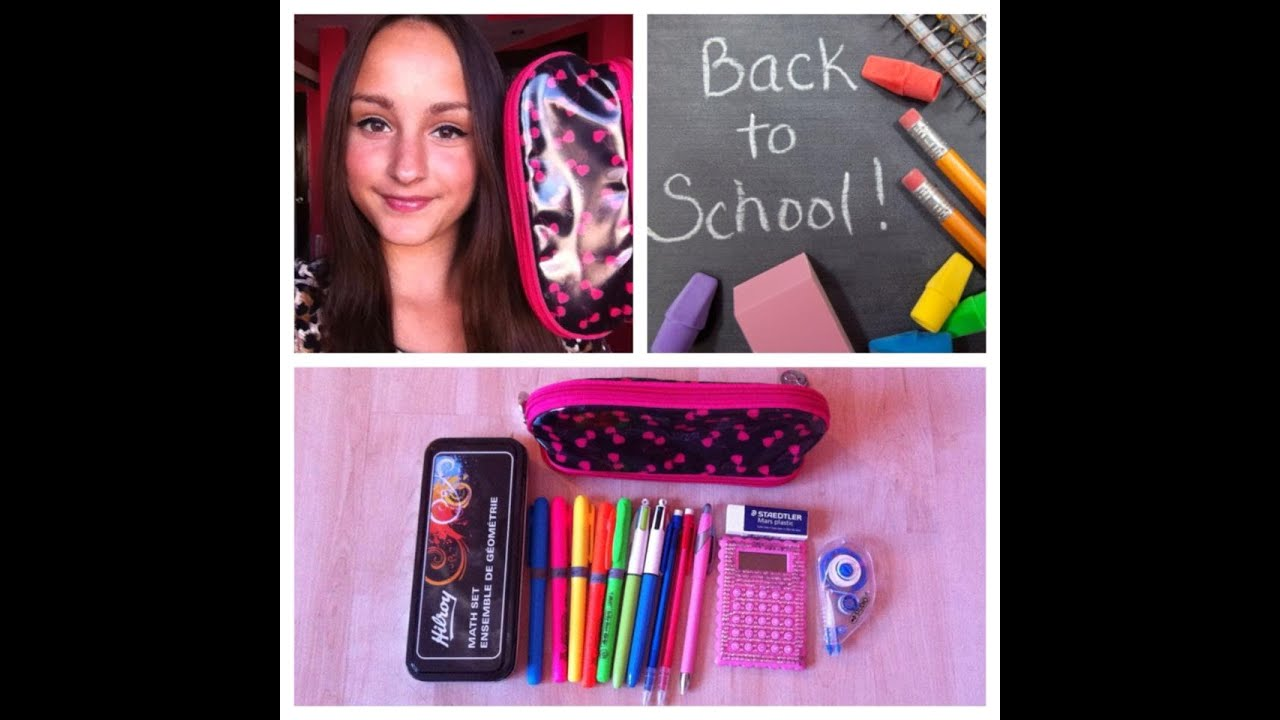 how to keep pencil case clean