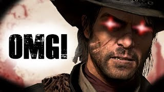 Is John Marston supposed to be this way in Red Dead Redemption?