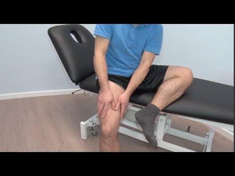 Cómo hacerse un masaje de descarga en los cuadriceps