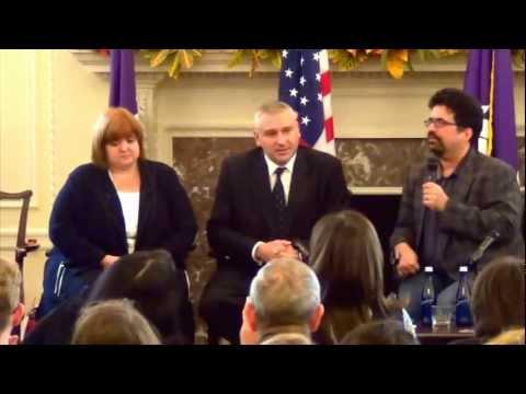 Mark Feygin Nikolai Polozov Violetta Volkova Discussion Free Pussy Riot Attorneys аt Nyu Law School video