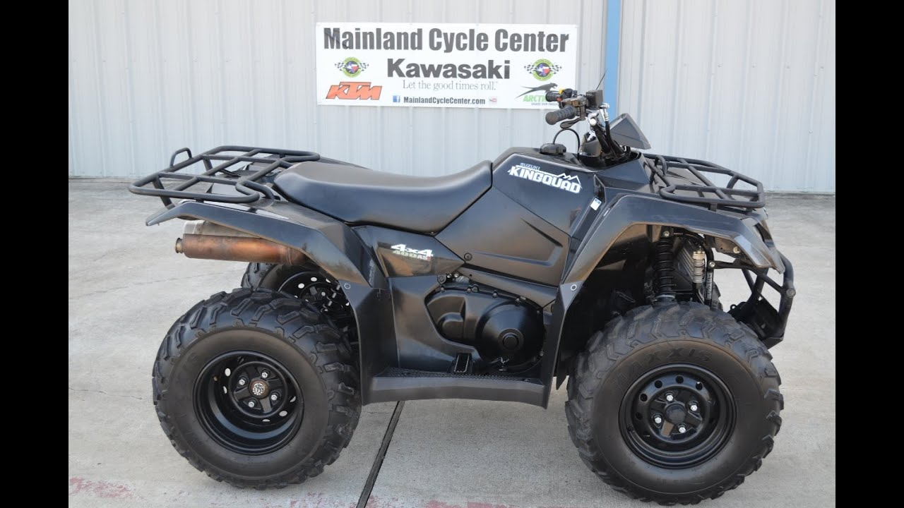 Suzuki Quads For Sale Sale 2011 Suzuki King Quad