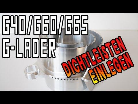 Dichtleisten im G-Lader G40, G60 u. G65 richtig einlegen | www.theibach-performance.de