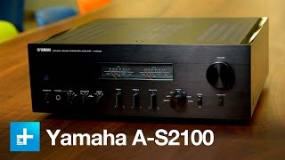 Yamaha A-S2100 integrated amp