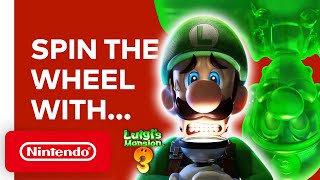 Mr. Tanabe & Mr. Ikebata Spin the Wheel - Luigi's Mansion 3