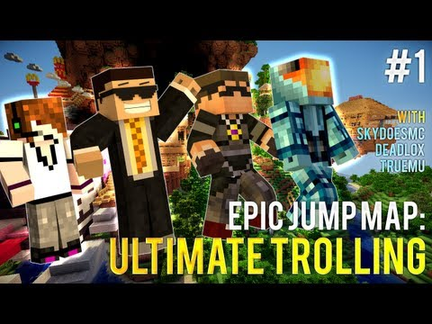 [OUT NOW] EJM: Ultimate Trolling ep1 w/ SkyDoesMinecraft, Deadlox and MinecraftUniverse