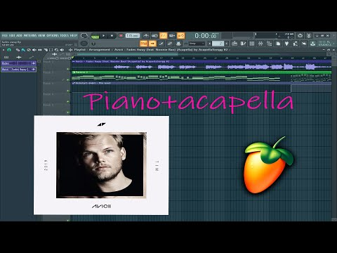 Avicii - Fades Away (Fl Studio) Piano+Acapella