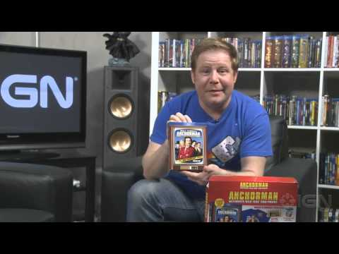 Anchorman: Ultimate Blu-ray Fan Pack - Unboxing