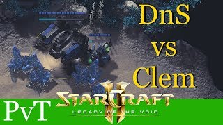 DnS vs Clem (PvT) - WCS Montreal - Starcraft 2: Legacy of the Void Profi Replays [Deutsch | German]