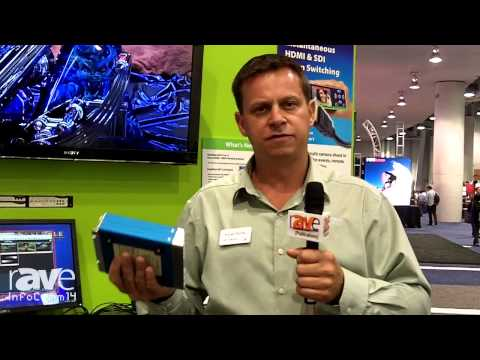 InfoComm 2014: Ensemble Designs Talks About the NXT 430-X Matrix Router