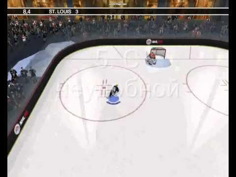 Как я исполняю буллиты в NHL 09