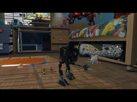LEGO Movie Videogame - All 15 Golden Instruction Builds (Complete Showcase)