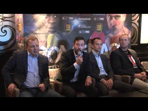Robert Helenius vs. Sherman Williams -- Press Conference -- Casino Helsinki