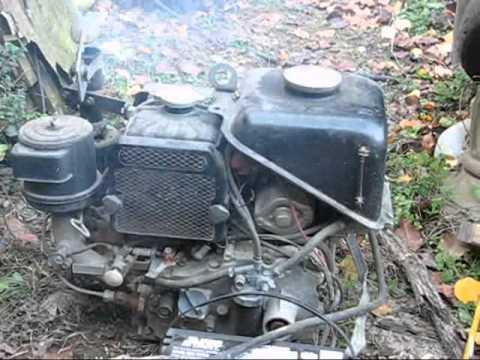 Kubota E300 Diesel Cold Start