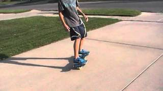 How to get on and ride a ripstik for beginners