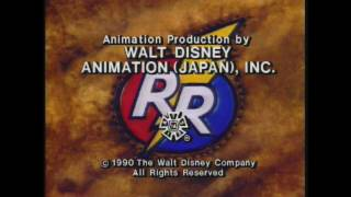 Chip 'N' Dale Rescue Rangers End Credits (Version 1)