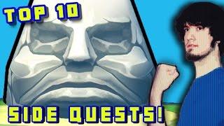 Top 10 Zelda Side Quests! - PBG