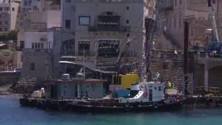 Jibda x-xogħol fuq il-gallarija tal-Barracuda