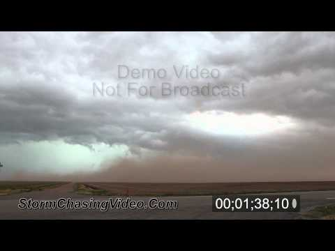 6/12/2010 Larned, Kansas dust storm.