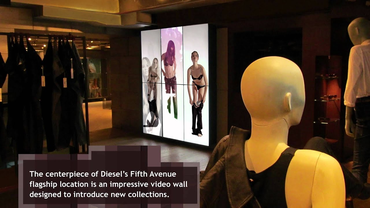 digital signage for fashion retail - ycd