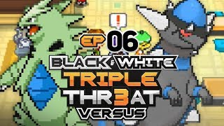 Pokémon Black And White Triple Threat Randomizer Nuzlocke Versus • w/ HDvee & PurpleFire • E06