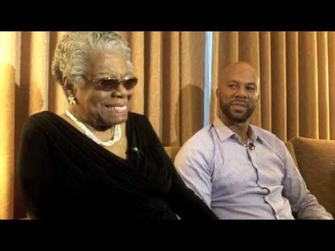 The Mash interviews Dr. Maya Angelou and Common