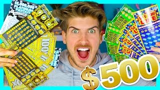 $500 WORTH OF LOTTERY TICKETS!