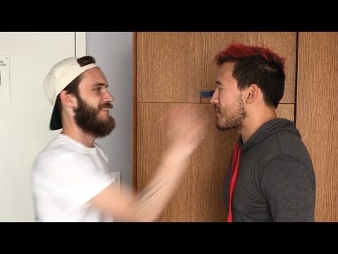 Markiplier SLAPPED by PewDiePie and JackSepticEye