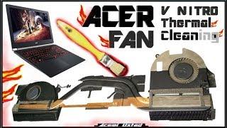 Acer Aspire Cleaning Fan [v17- v15 ] Temizleme ve macun değişim | Thermal Paste Work/Owerheating Cpu