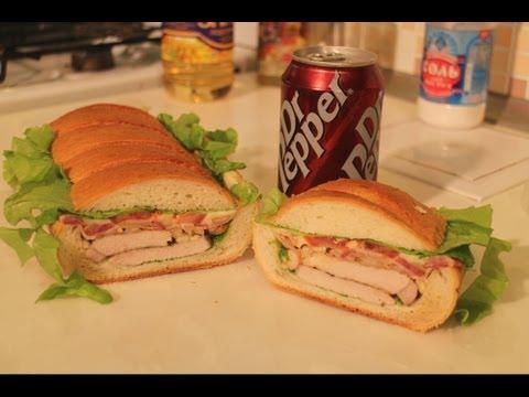 Сэндвич под прессом. Рецепт мега-бутерброда.