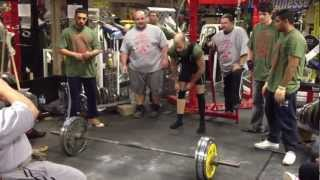 205kg Deadlift Unequipped Southern Championship