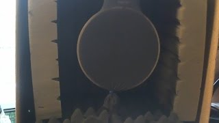Homemade Recording Box and Pop Filter