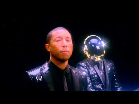 Daft Punk Pharrell Williams SNL Ad [Proper &amp; Smooth HD Loop]
