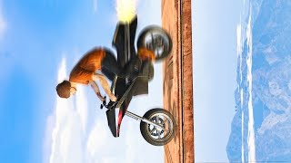 NEW FASTEST FLYING ROCKET BIKE! *WORLD RECORD ATTEMPT!* (GTA 5 Funny Moments)
