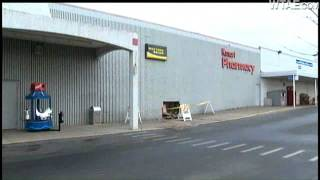 Car Crashes Into Side Of Kmart Store