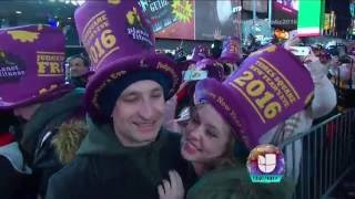 Ball Drop -Welcome 2016 - Bienvenido 2016 -Time Square New York