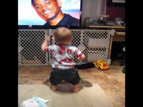 Thumbnail of video Funny dancing baby - Gettin Jiggy with it - Will Smith