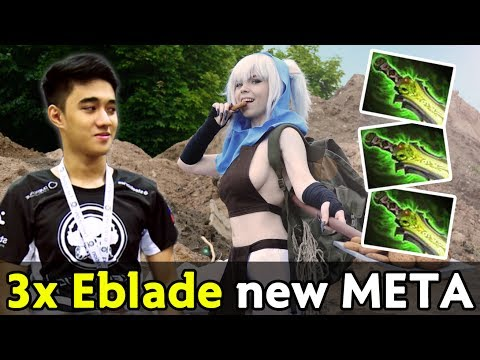 Abed best Meepo in the world — 3x Ethereal Blade build